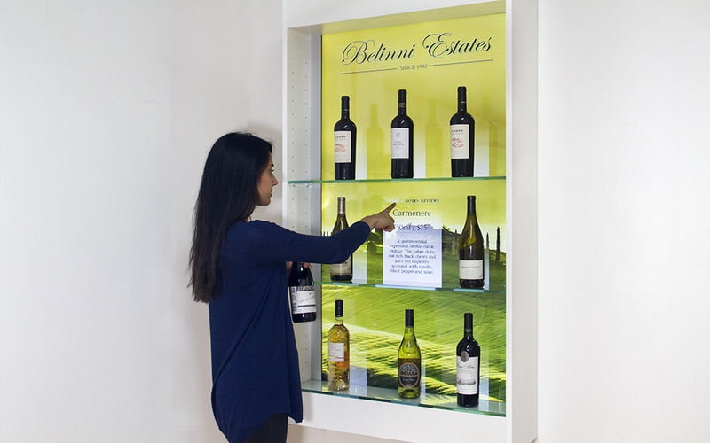 Digitized Wine Displays