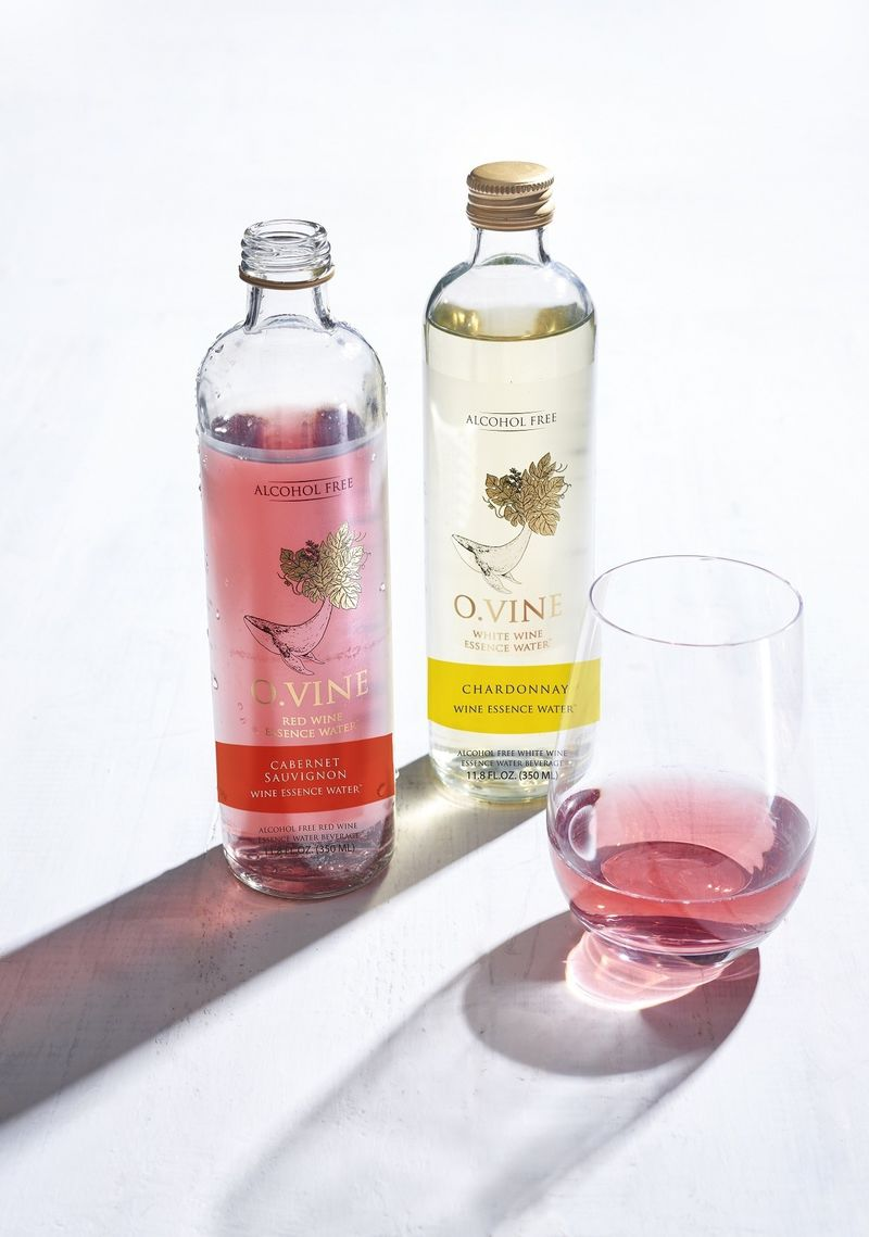 Wine-Inspired Water Beverages