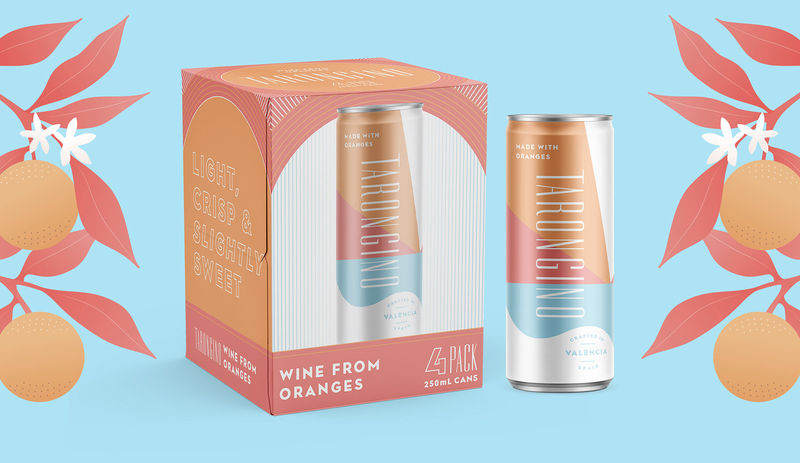 Canned Citrus Wines