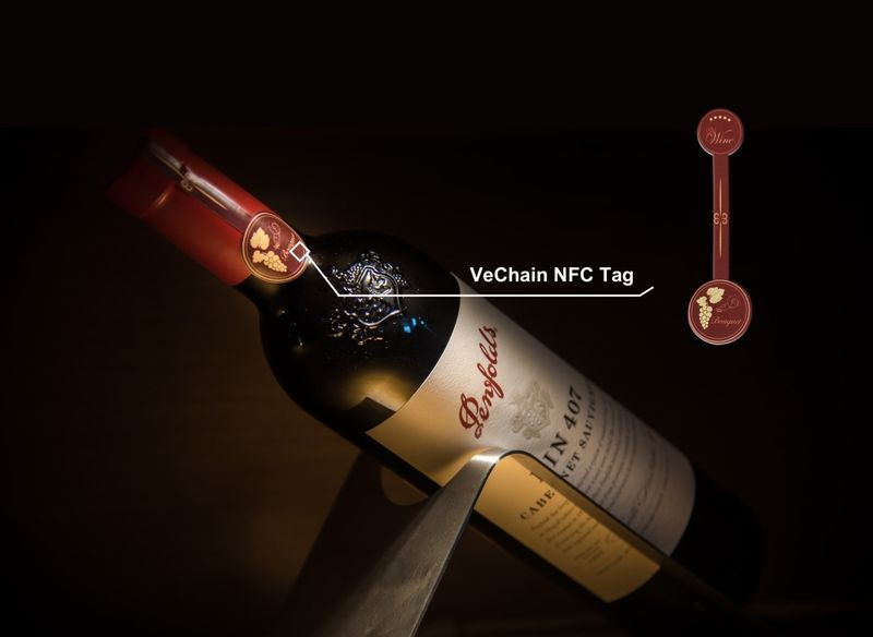 Anti-Counterfeit Wine Tags