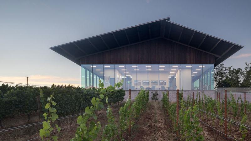 Glassy Wine Tasting Rooms