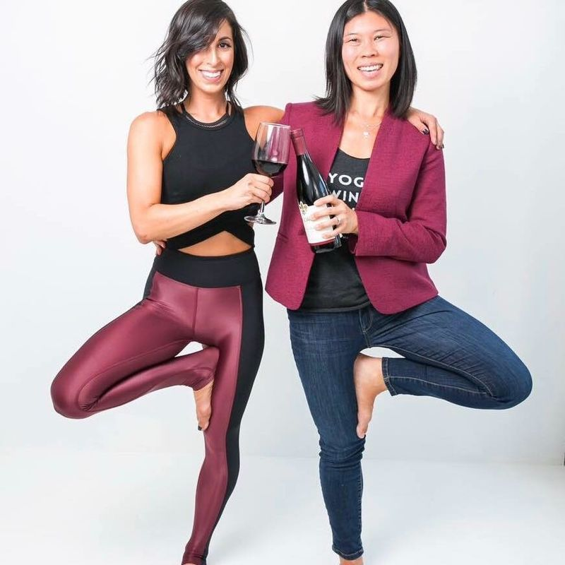 Vino-Fuelled Yoga Classes