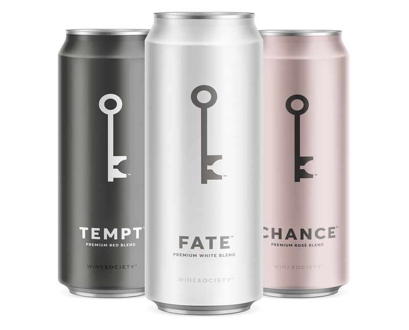 Minimalist Canned Wines
