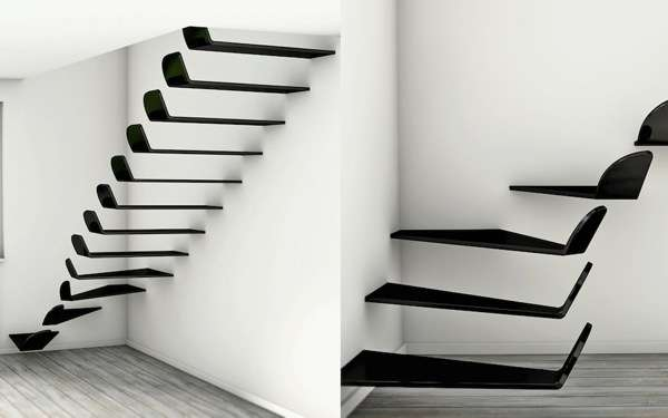 Hooked Cantilevered Steps