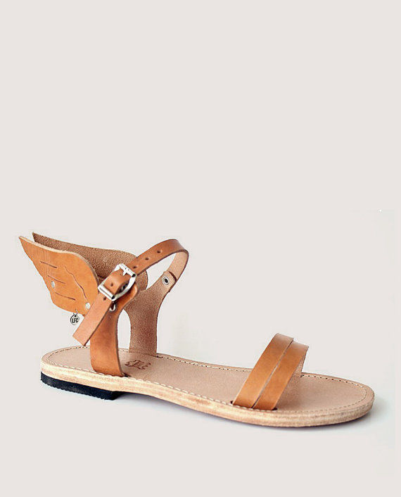 96eabd341437 Mythology-Inspired Footwear   winged sandals