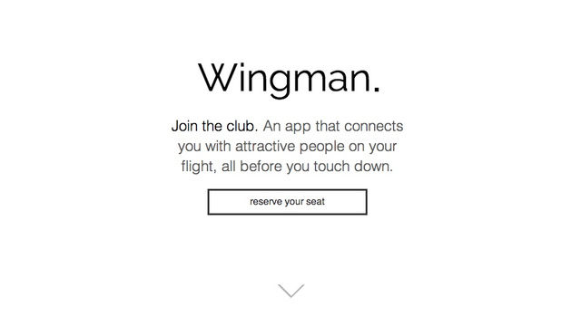 Flirtatious In-Flight Apps