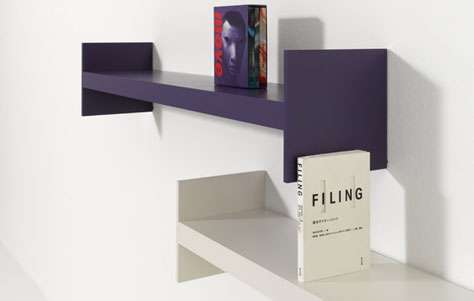 Simplistic Shelf Designs