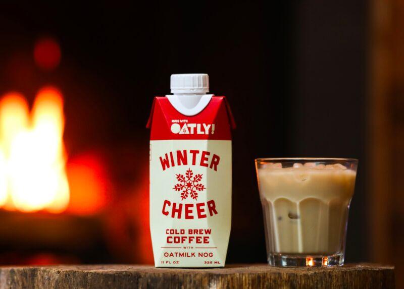 Festive Oat Milk Cold Brews