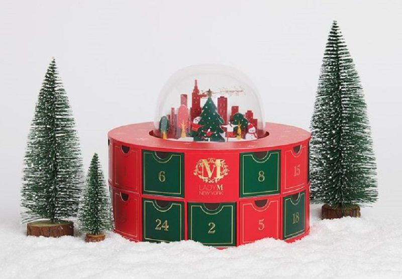 Snow Globe Advent Calendars