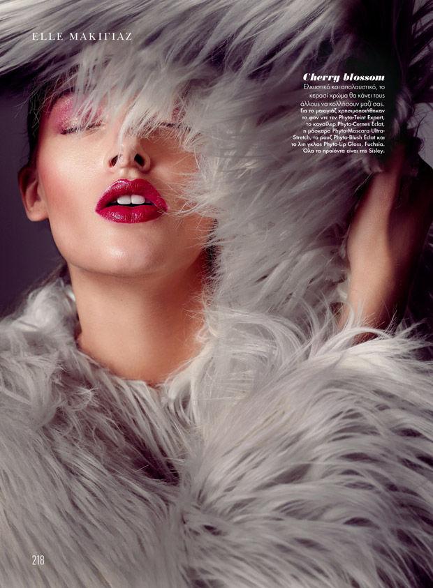 Fur-Clad Beauty Editorials