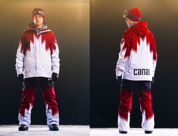 Nationalistic Snowboarding Gear