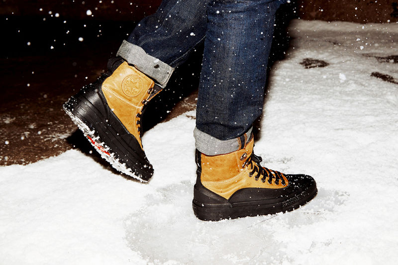 Winterized High-Top Sneakers