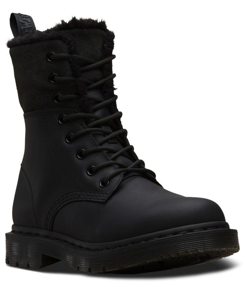 Slip-Resistant Fleece-Lined Boots