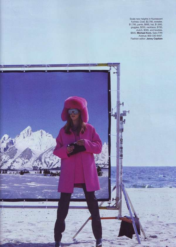 Seaside Ski Editorials