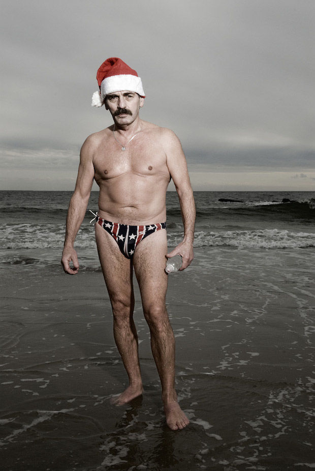 Winter Swimmer Photography
