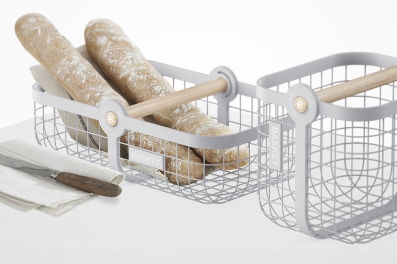 Two-in-One Shopping Baskets