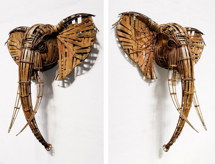 Animalistic Wire Sculptures