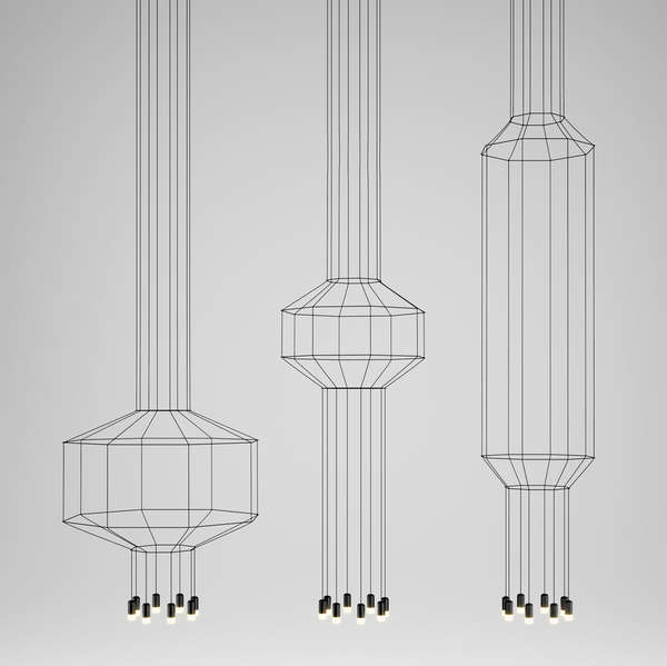 Lighted Line Drawings