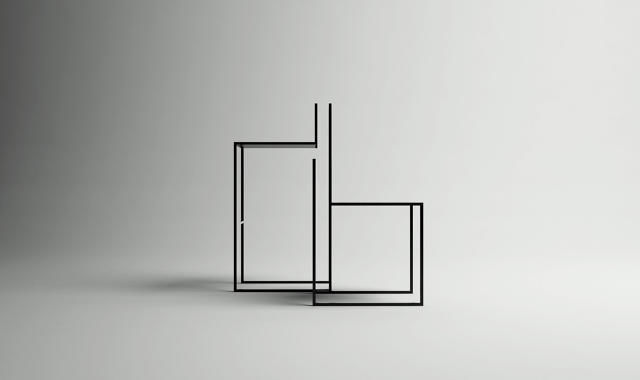 Dapper Wireframe Furnishings. Simple Industrial Seating