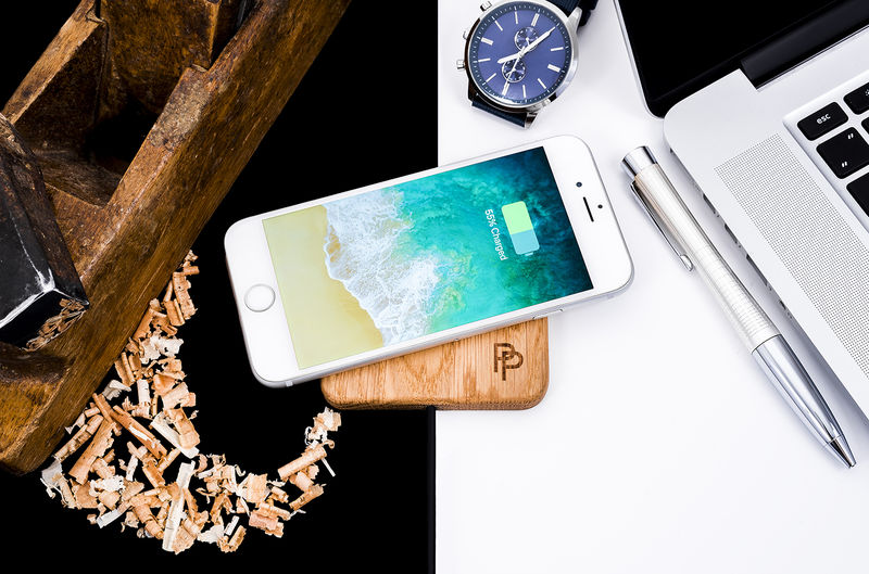 Wooden Wireless Charging Stations