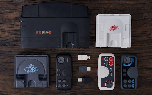 Wireless Retro Gaming Controllers