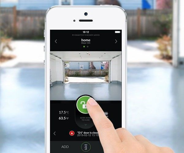 WiFi-Enabled Garage Openers