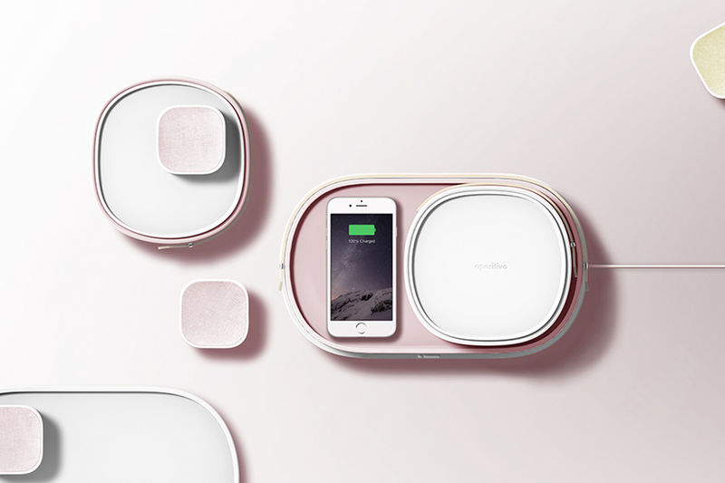 Stackable Wireless Charger Speakers