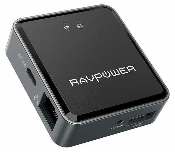 Portable Media Server Routers
