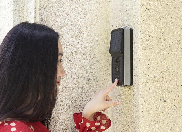 Solar-Powered Smart Doorbells