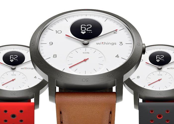 Sporty Hybrid Smartwatches