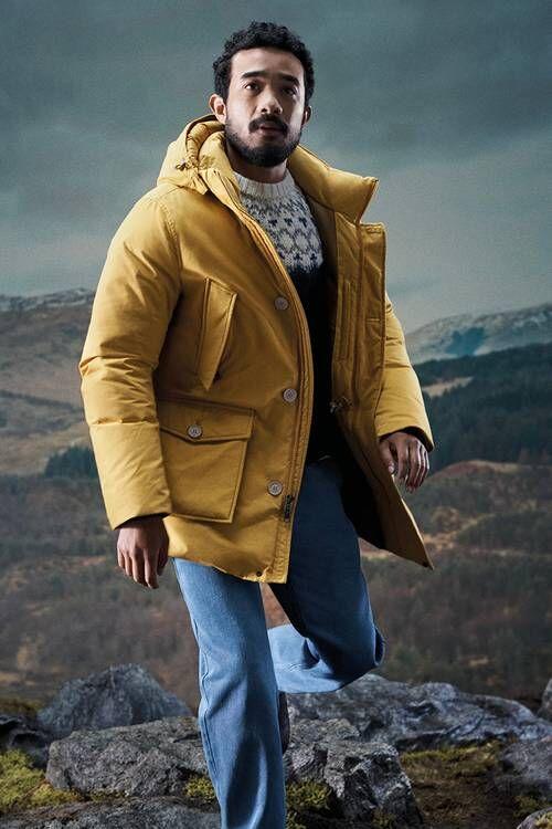 Artist-Modeled Fall Outerwear