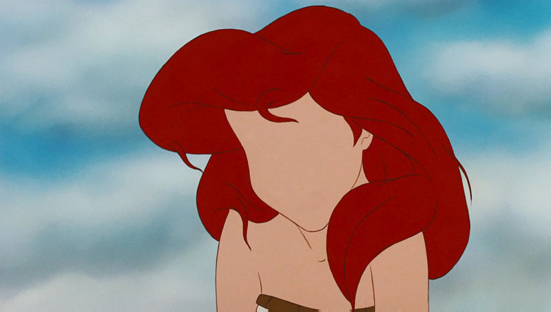 Faceless Disney Princesses