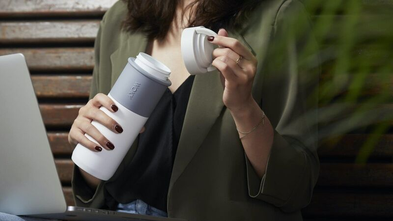 Leakproof Ceramic Drink Containers