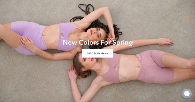Sustainable Reversible Activewear