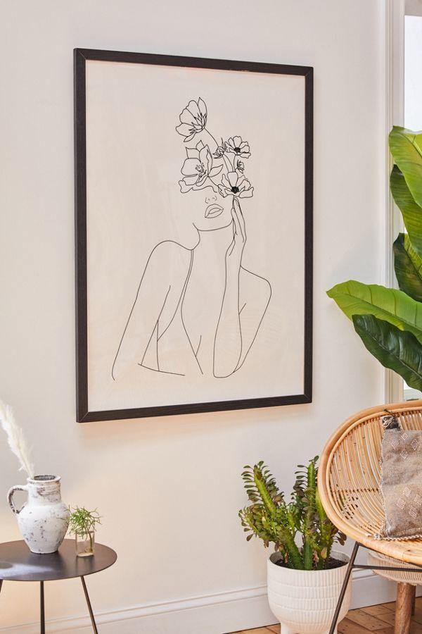 Feminine Minimalistic Art