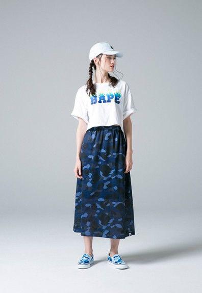 Camouflaged Japanese Womenswear