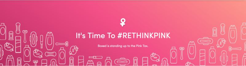 Pink Tax-Fighting Campaigns