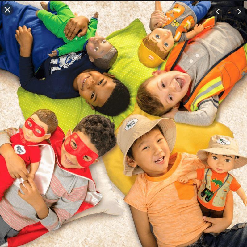 Diverse Boy-Targeted Dolls