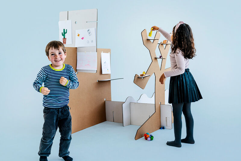 Customizable Cardboard Play Sets
