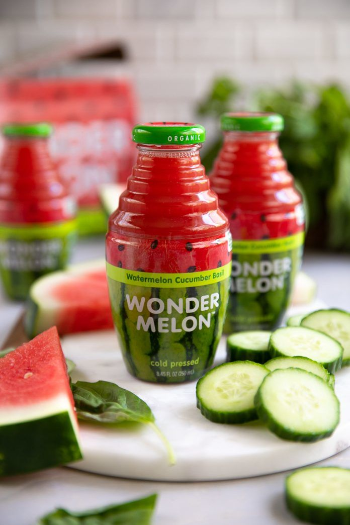 Cold-Pressed Watermelon Juices