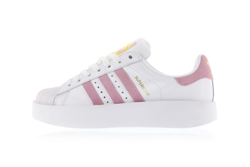 Sleek Pink-Accented Sneakers