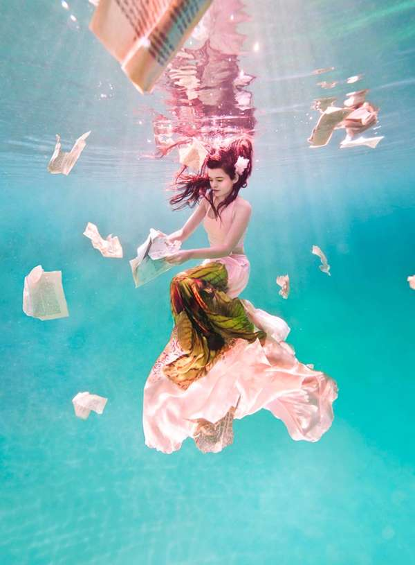 Surreal Submerged Fashion Ads