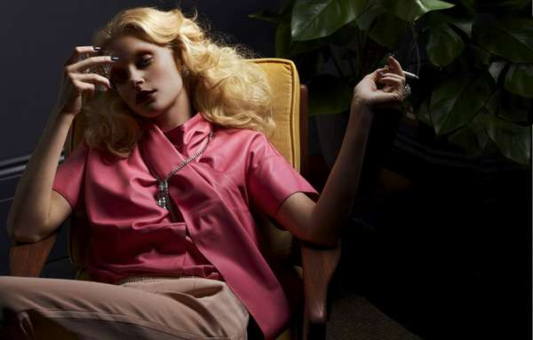 Posh Lounging Editorials