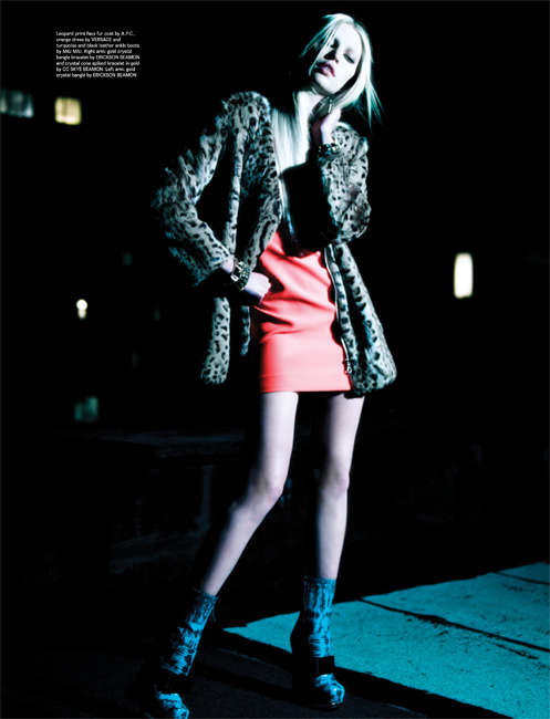 Edgy Nighttime Editorials