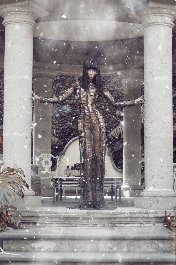 Edgy Wintry Photoshoots
