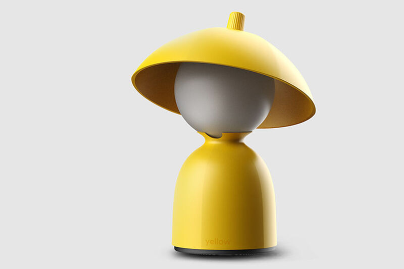 Personified Raincoat-Inspired Lamps