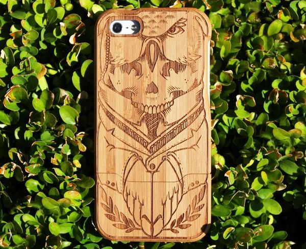 Sleek Renewable Bamboo Cases