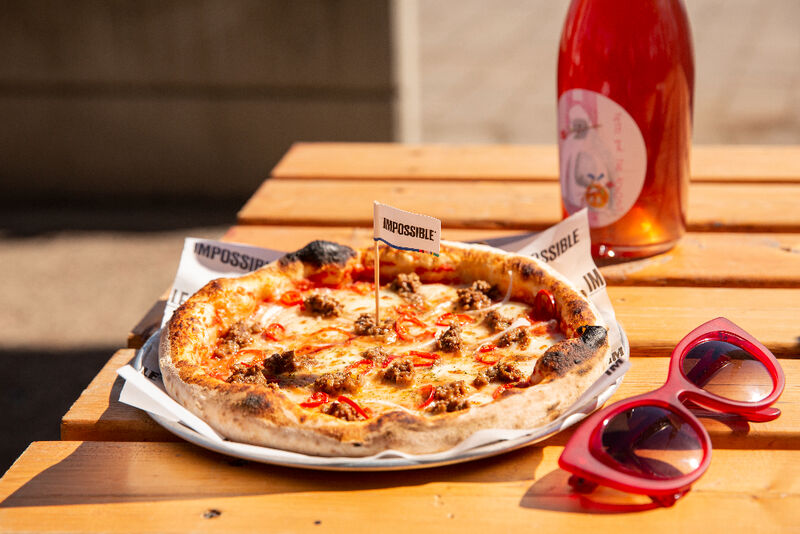 Wood-Fired Meatless Pizzas