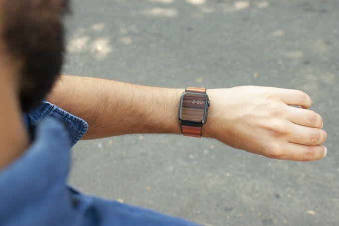 Wood-Topped Wearable Bands