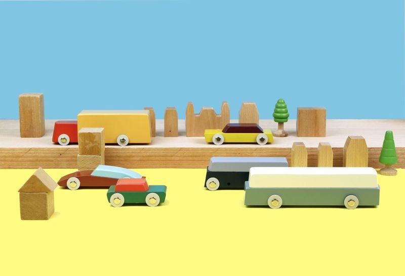 Minimalist Designer Toy Cars